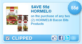Hormel Bacon Bits Products Coupon