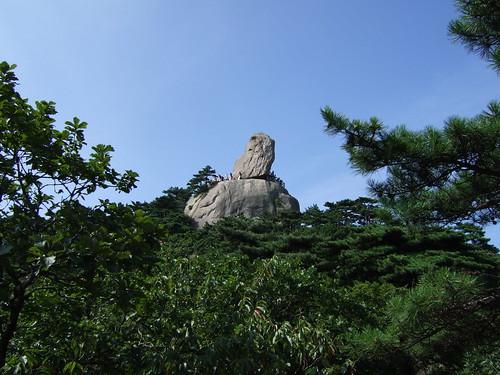 飛来石 @ 黄山