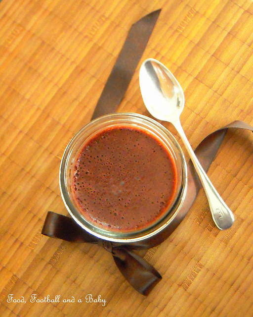 Chocolate Chestnut Pots de Creme