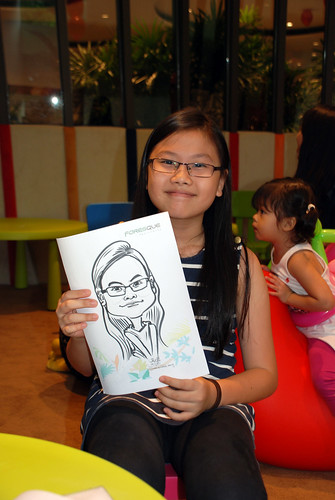 caricature live sketching for Forestque Residence (Wing Tai) - Day 1 - 7