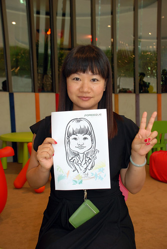 caricature live sketching for Forestque Residence (Wing Tai) - Day 1 - 18