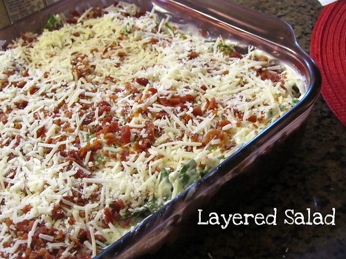 Grandma's Layered Salad
