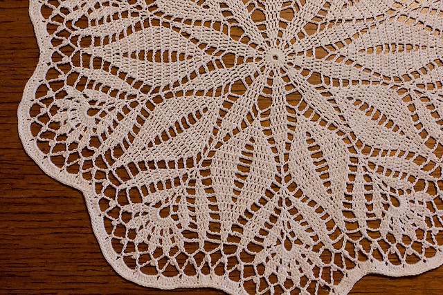 Japanese Flower Doily