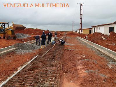 Construcción de calle en Amarilis