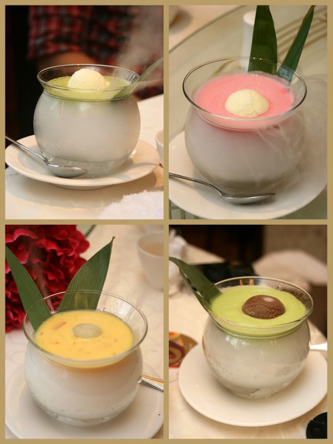 Peach Blossoms desserts