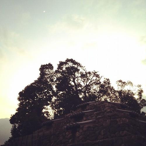 奈良のピラミッド。頭塔(ずとう)っていうらしい。