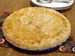 Turkey and ham pie