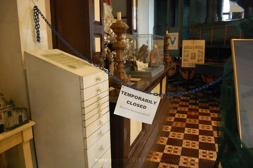 Negrs Museum closed section