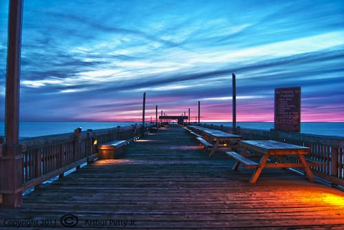 Tybee Island Pier Sunrise #3