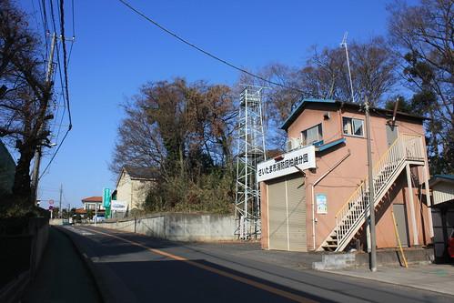 柏崎の火の見櫓(さいたま市岩槻区)