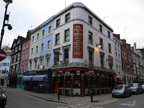 Coach and Horses - Dean Street, Soho by Yekkes