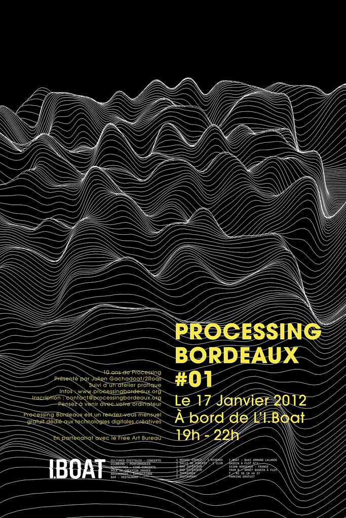 Processing Bordeaux #01 poster