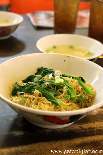 Wanton Bamboo Noodles, Nippy Noodle Restaurant
