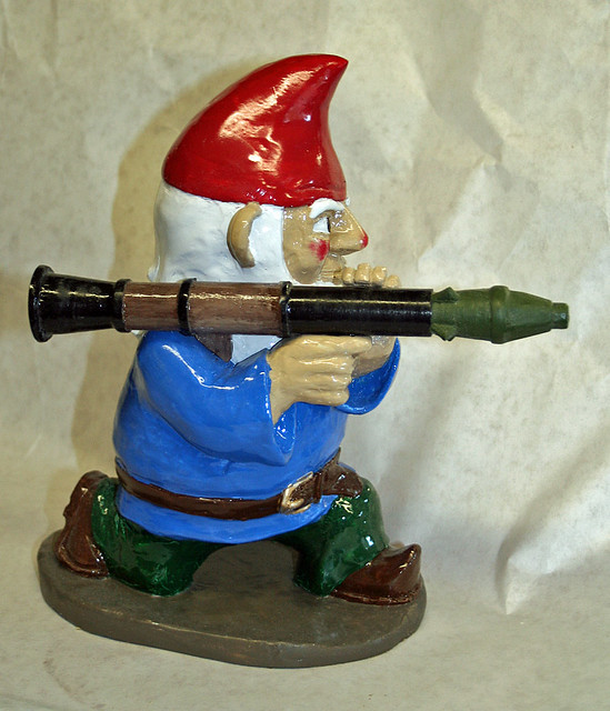 RPG7 Gnome Painted Side