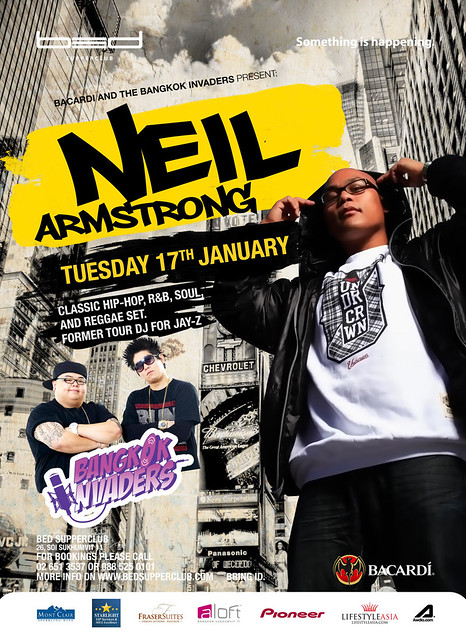 1/17 - Neil Armstrong with the Bangkok Invaders