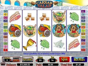 Caesar Salad slot game online review