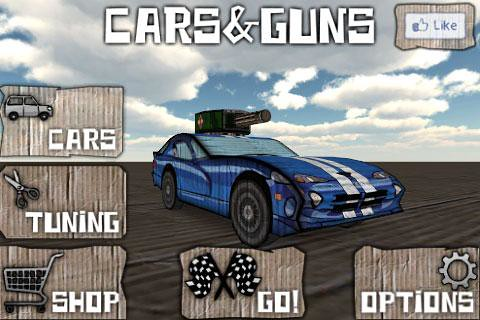 Descargar Cars and Guns 3DLa mezcla perfecta entre coches y