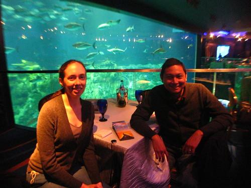 After Lunch at Neptune's Restuarant, Grand Aquarium, Ocean Park