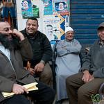 Egyptian Men Chatting - Alexandria, Egypt