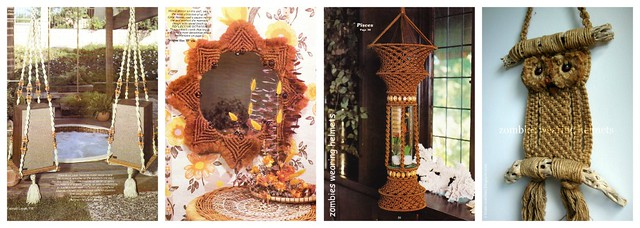 macrame monday collage