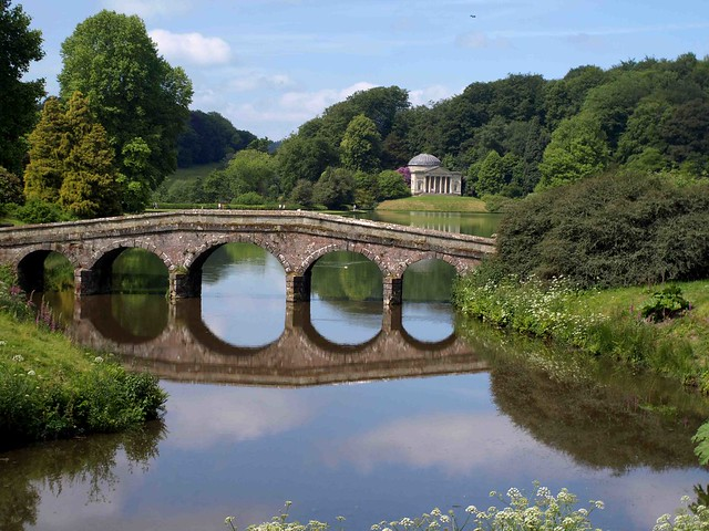 Stourhead Bridge
