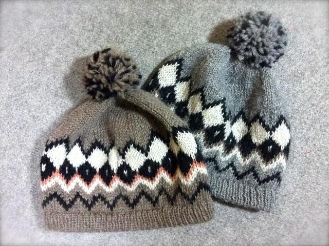 ニット帽(二色)