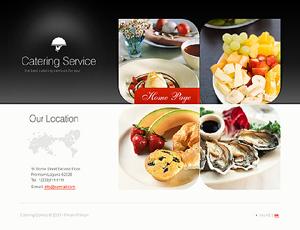 Flash site 24940 Catering service