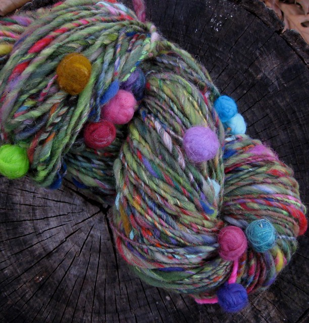 Garden of Peculiarities handspun