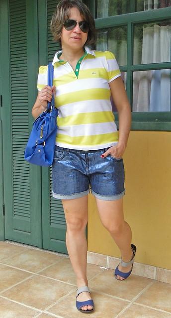 Amarelo e azul