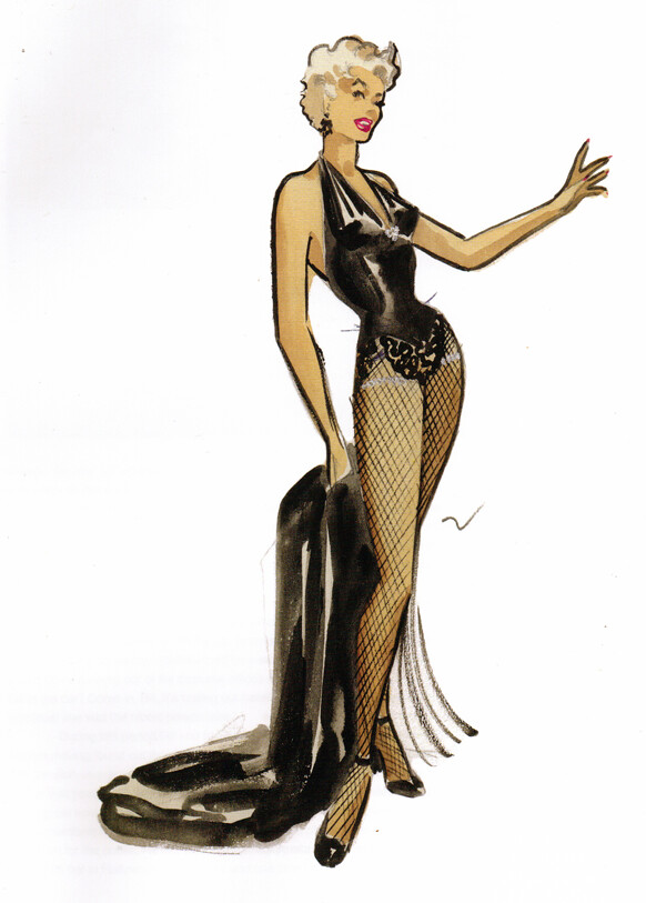 Marilyn Monroe Costume Design by Travilla