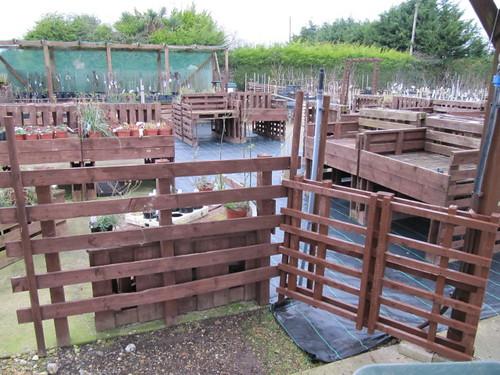 Como hacer una valla best hacer una valla reciclando for Como hacer una valla con palets