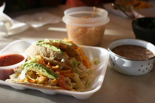 Esther's Veggie Tacos