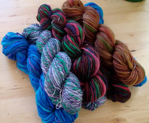 Fresh, handspun yarns