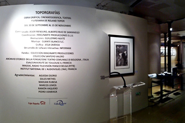 inauguración Toporgrafías en León