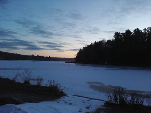 snow ice clouds dawn daylight alba amanecer shore madrugada daybreak midwinter swanisland kennebecriver richmondme merrymeetingbay