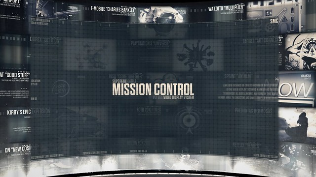 Mission Control II: Video Display System (Title)