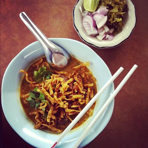 Khao soi, Lam Duan Fah Ham, Bangkok: