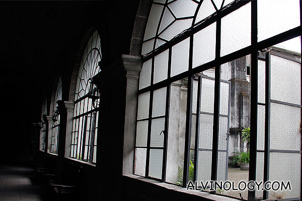 Large arch-shaped windows