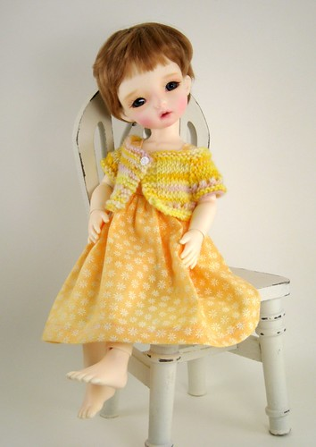 Dollmore Aga in Yellow by elizabeth's*whimsies
