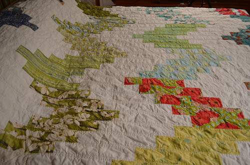 A quilt for my bed - quilting