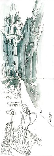 CAC ruelle, ombre, vélo