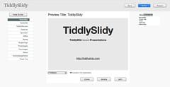 TiddlySlidy