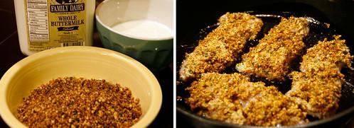 Pecan Chicken Prep