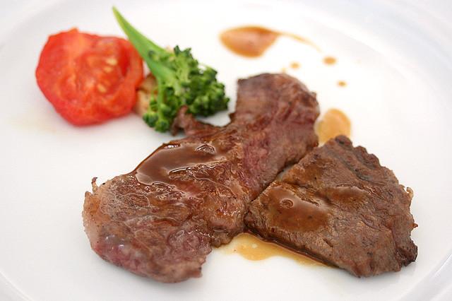 Kagoshima Wagyu: Grilled Minute Steak with Kagoshima Vegetables