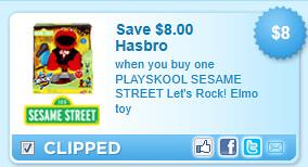 Playskool Sesame Street Let