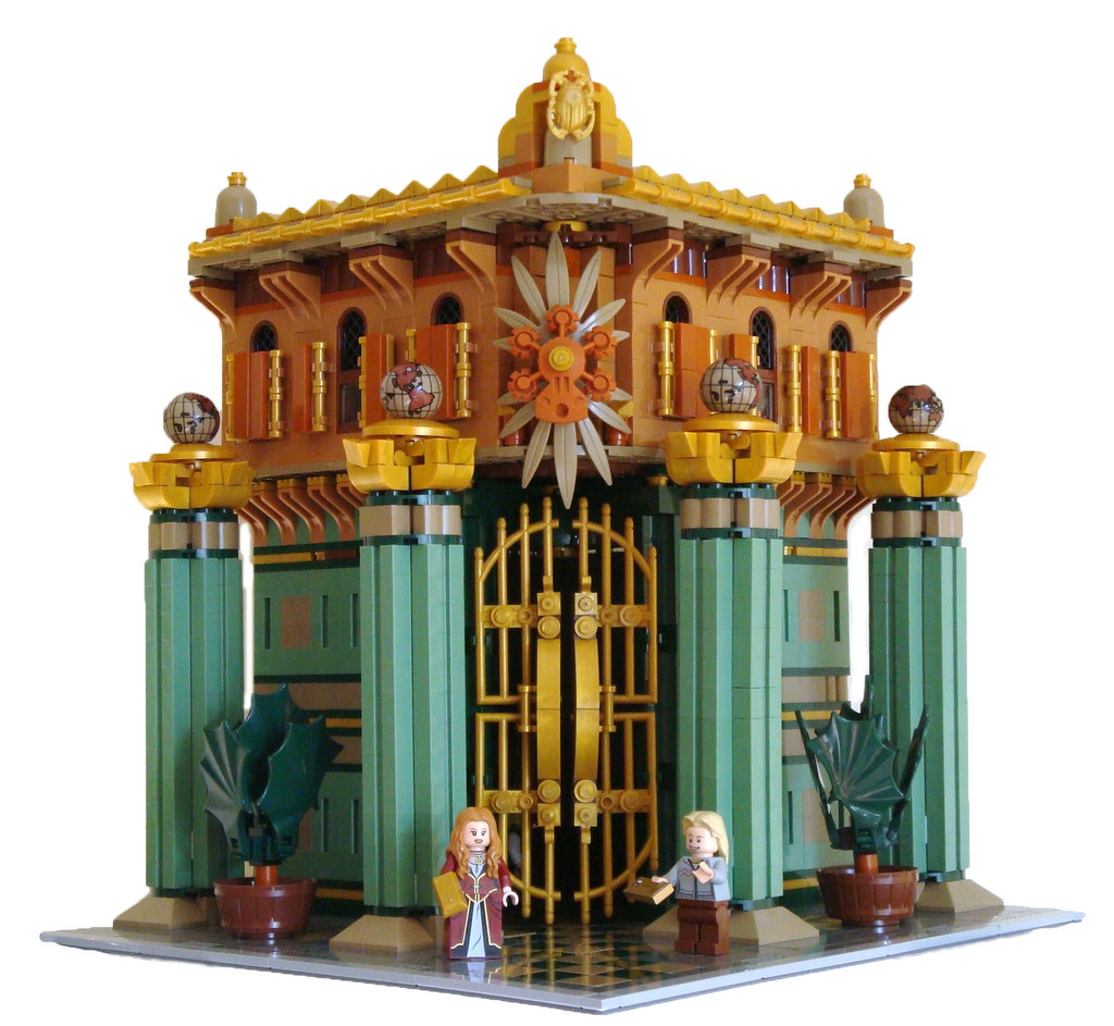 LEGO Modular Bank Main View