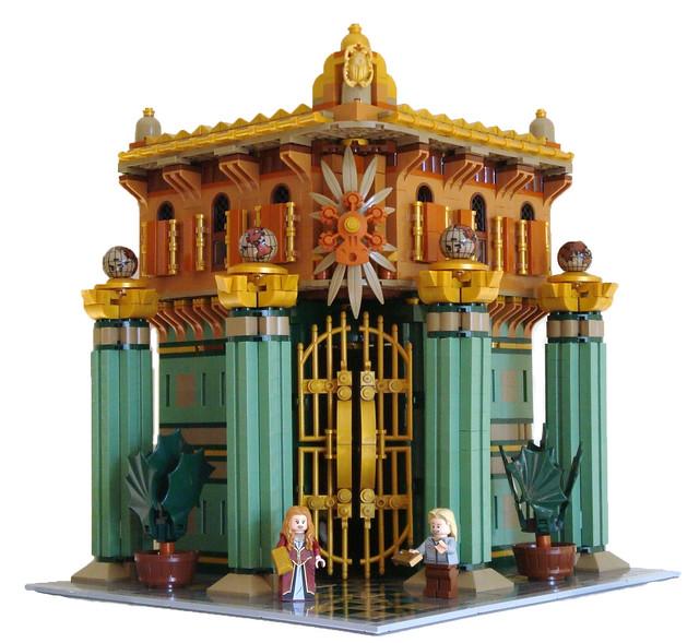 LEGO Modular Bank Main View