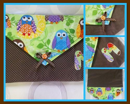 Porta primeira roupa by ♥Linhas Arrojadas Atelier de costura♥Sonyaxana