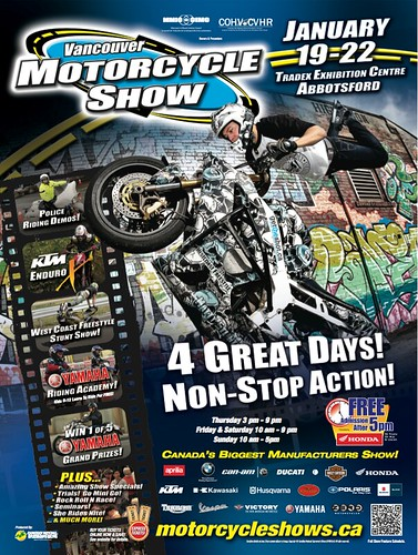 Vancouver Motorcycle Show 2012