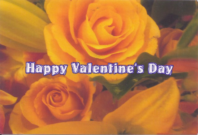Yellow Roses-Happy Valentine's Day